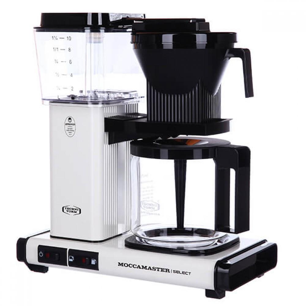 Кофеварка Moccamaster KBG741 Select Белый