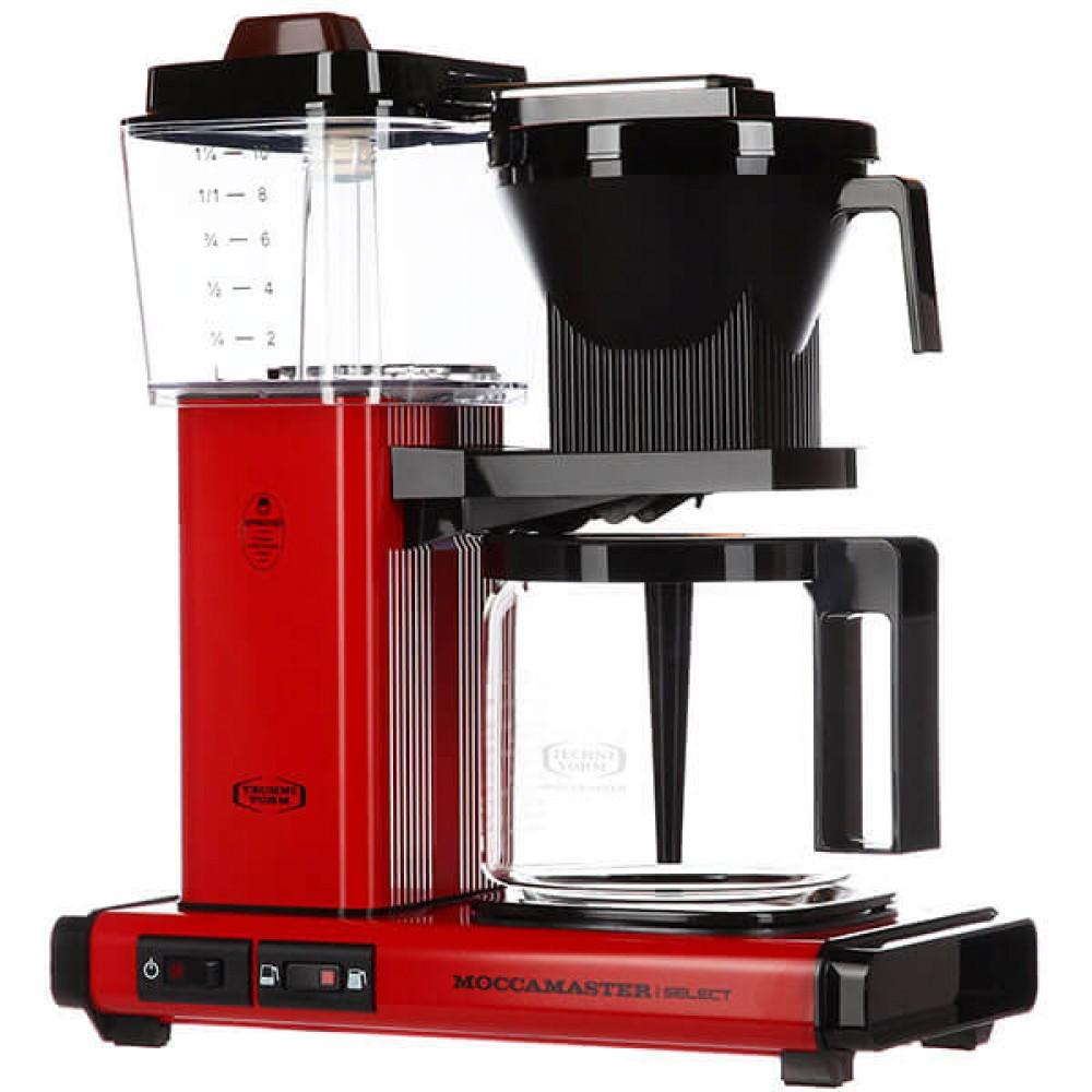 Кофеварка Moccamaster KBG741 Select, красный